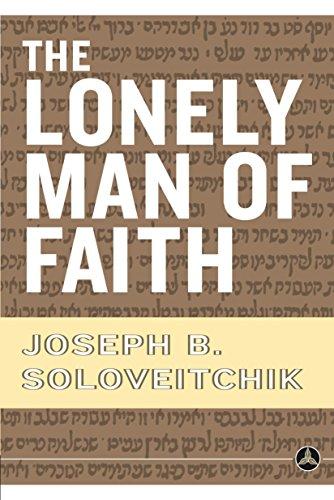The Lonely Man of Faith por Joseph B. Soloveitchik