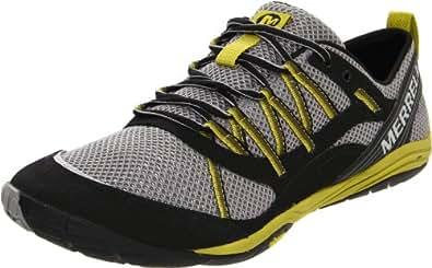 Merrell Flux Glove Sport, Men's Running Shoes, Black (Black/Light Firefly), 12.5 UK