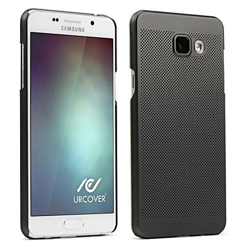 UrCover Custodia Protettiva Loopee per Samsung Galaxy A5 2016   Back Cover Rigida Ultraslim   Case Ultra-Leggera   Scocca Posteriore in Nero