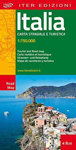 Italia. Carta stradale e turistica 1:750.000 (Carte stradali)