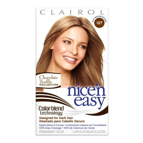 Clairol Nice 'n Easy Color, 127 Medium Blonde (Pack of 3) by Clairol (Clairol Blonde Medium)