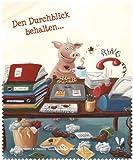 """Brillenputztuch """"Büro-Chaos"""" Rannenberg und Friends"""