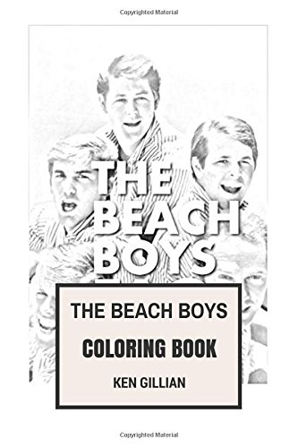 Surf-ken (The Beach Boys Coloring Book: American Surf Rock Legends and Wilson Brothers Inspired Adult Coloring Book (Coloring Book for Adults))