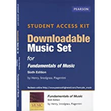 Download Music Access Card for Fundamentals of Music by Earl Henry (2012-05-13)