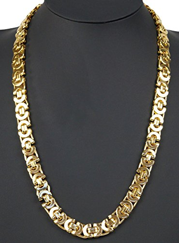 kaiser-handle-p001-catena-in-acciaio-inox-luxus-konigskette-catena-in-oro-collana-da-uomo-donna-10-x