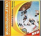 CD Modellbahn-Atmo/Die Geräuschekulisse für Ihre Modelleisenbahnanlage (Bahnhof-Rummel/Kirmes)