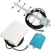 Proutone gsm 900MHz repetidor de la Señal del teléfono Móvil, Amplificador de Señal gsm + Yagi Antena con Cable DE 10 m