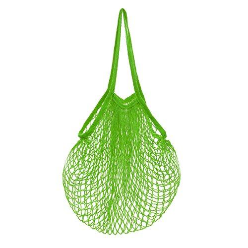 LQZ(TM) Einkaufsnetz Gemüsebeutel Obstbeutel Kartoffelsack Netztasche Netzbeutel aus Bio-Baumwollschnur (Obst Stoff)