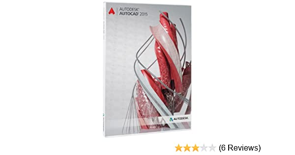 AutoDesk AutoCAD 2015 - 3 Year Student License (for Windows & Mac)