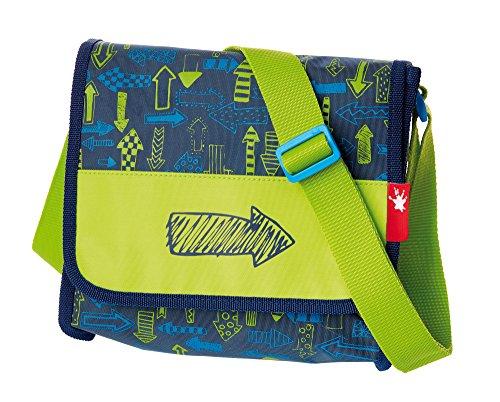 sigikid, Jungen, Kindergartentasche mit Motiv Pfeil, Arrows, Blau/Grün, 24642