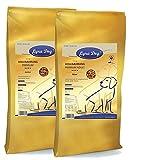 Lyra 12,5 kg Pet Dog Junior + 12,5 kg Pet Dog Adult Maxi Premium Hundefutter