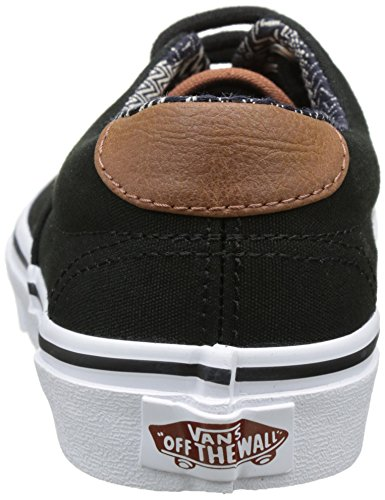 Vans Jungen Uy Era 59 Sneakers Schwarz (C And L Black/material Mix)