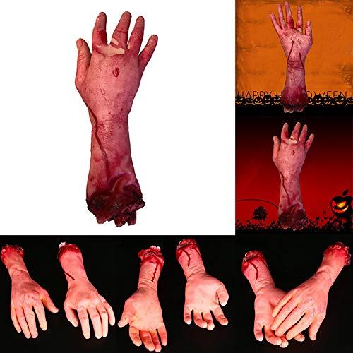 or Halloween Dekoration blutig Hand Neuheit gebrochene Hand ()