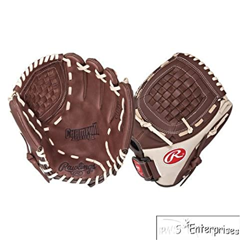 Rawlings Champion Series Infield Pitcher (Dark Brown/Light Tan, Right Hand