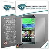 2 x Slabo Bildschirmschutzfolie HTC ONE 2 M8 Bildschirmschutz Schutzfolie Folie