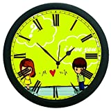 meSleep Couple 3D Wall Clock (With Glass)
