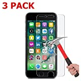 iPhone 7 Plus Screen Protector 2 Pack Asstar Tempered Glass Scratch-Resistant 9H Hardness Crystal Clear Bubble Free Screen Protector for Apple iPhone 7 Plus 5.5 inch 2-Pack 3 Pack