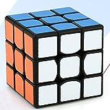 Cube Jouets pour enfants Noël Cadeau Mini Cube Magique 3x3 Speedcube Brain Teaser Puzzle Cube magique pour débutants aux Cubers expérimentés