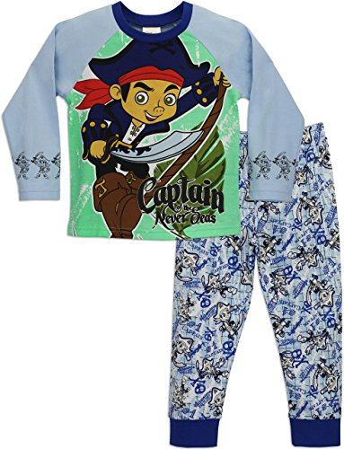 jake-and-the-neverland-pirates-pigiama-a-maniche-lunga-per-ragazzi-di-jake-e-i-pirati-dellisola-che-