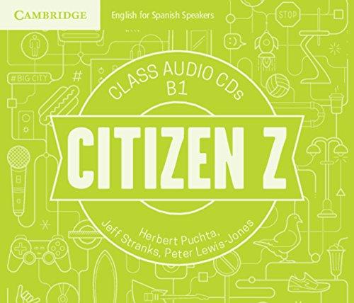 Citizen Z B1 Class Audio CDs (4) - 9788490366004
