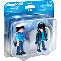 Playmobil 9218 Collectable Policeman and Burglar Duo Pack