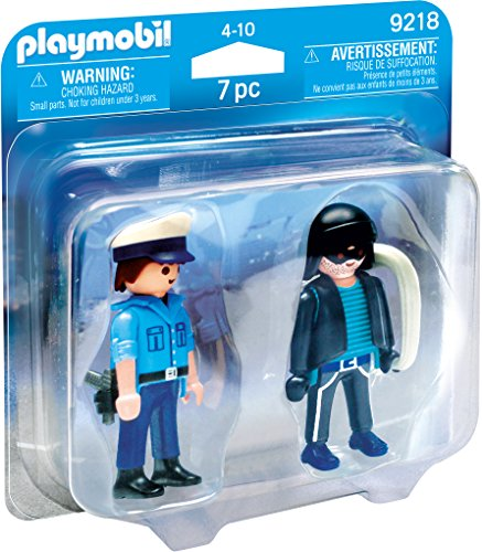Playmobil Duo Pack-9218 Policía Ladrón