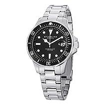 Stuhrling Original Herren-Armbanduhr Regatta Aquadiver 664 Analog Quarz 664.01