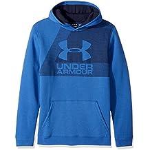 Under Armour chicos 'Rival sudadera con capucha, Rival, Niños, color Ultra Blue, tamaño M