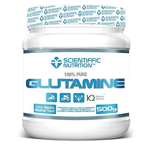 SCIENTIFFIC NUTRITION Glutamine New Generation 500 GRS TU Neutral, ohne Geschmack