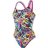 speedo Digi Xback Swimsuit Girls pink/orchid/black Größe DE 128 | US 26 2017 Schwimmanzug