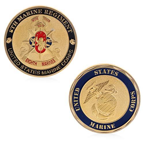 Amarzk Gedenkmünze BTC Sammlung Kunst Legierung Überzug Nachahmung Marine Armee Handwerk - Arm Sammlung