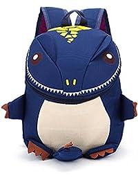 GORDESC 3D-Rucksack, Dinosaurier-Motiv, für Kindergarten, Kinder, Jungen, Kleine Schultasche, Rucksäcke dunkelblau preisvergleich bei kinderzimmerdekopreise.eu