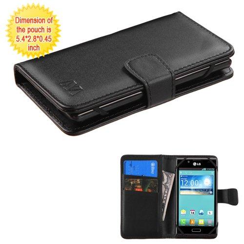 Schutzhülle und Eingabestift, passend für Apple iPhone, Samsung, LG etc. Geldbörse aus PU-Leder, mit Kreditkartenfächern, für 10,2 cm bis 11,4 cm Mobiltelefon/Gerät. Passend für folgende Modelle: