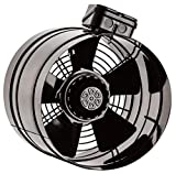 Axial Rohrventilator TURBO Be-Abluft Lüfter Axialventilator Radial ø250 1500m³/h