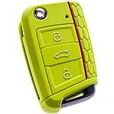 BluePony compatible con Seat Le/ón SC, ST, 5F Funda para llave de coche