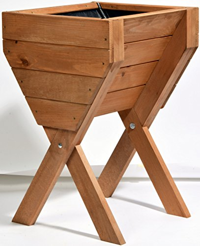 Dobar Dekoratives Hochbeet Aus Holz Kiefer Tischbeet Bausatz Fur