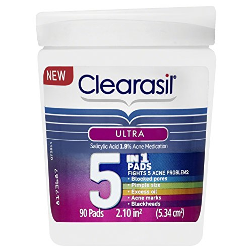 clearasil-ultra-5-in-1-acne-medication-pads-90-count