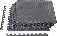 قطع بلاط لتكوين سجادة ارضية من رغوة ايفا للصالة الرياضية من امازون بيسيكس