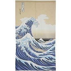Fabricado en Japón. Hokusai The Great Wave Kanagawa by Narumi