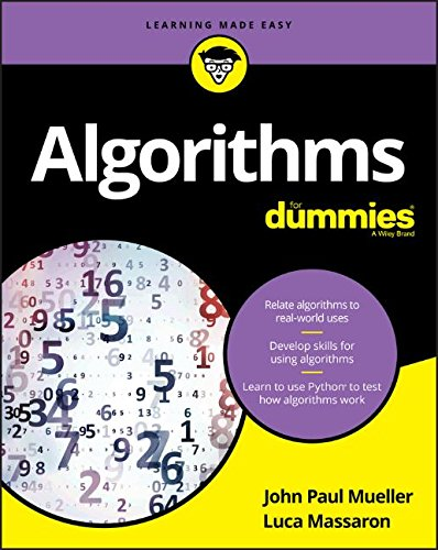 Algorithms For Dummies (For Dummies (Computer/Tech))