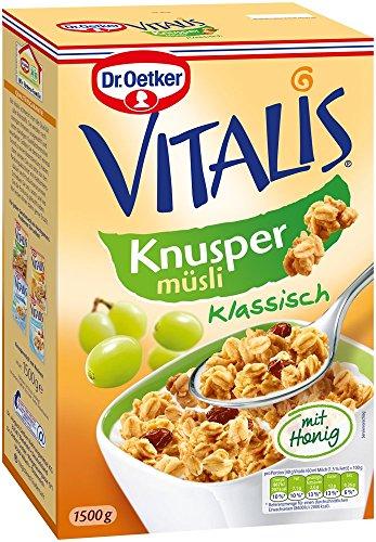 Dr. Oetker Vitalis Großpackung Knusper Müsli