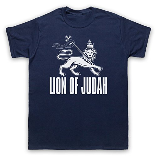 Lion Of Judah Israelite Tribe Herren T-Shirt Ultramarinblau