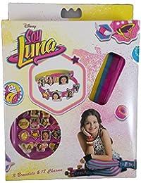 Soy Luna - Pack pulsera 3 braza + 18 colgantes (Kids WDSL006)