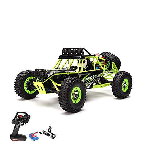 1:18 RC Modellauto ferngesteuerter Monsterbuggy Truck Truggy, 2.4GHz Digital vollproportionale Steuerung ,4WD Allradantrieb für jedes Gelände, - Monster-lkw-spielzeug Mädchen,