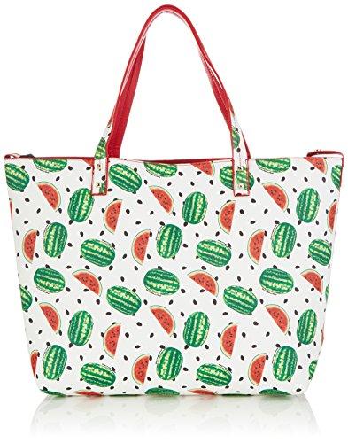 Fornarina - Elle, Acquirente da donna, multicolore (watermelon/red c560), 48x32x13 cm (B x H x T)