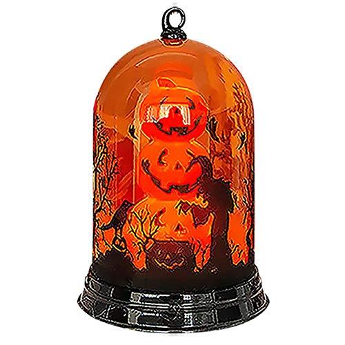 Kentop Halloween Kürbis Lichter Nachtlicht Hexenlichter Lichtfarbe ändern/blinken