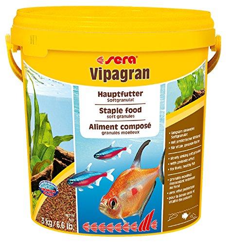 SERA VIPAGRAN 250ml - MANGIME IN GRANULI PER PESCI ACQUARIO
