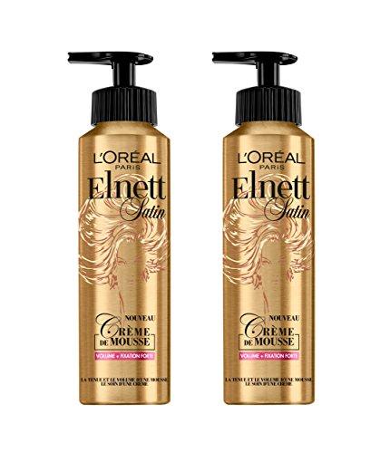L'Oréal Paris Elnett Mousse Coiffante Volume 200 ml - Lot de 2