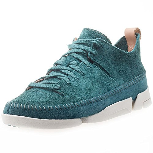 clarks-originals-trigenic-flex-mens-suede-casual-shoes-teal-47-eu