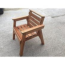 Heavy Duty de madera silla de jardín. * Super resistente *